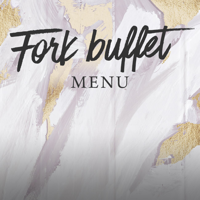 Fork buffet menu at The Cliff