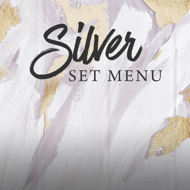Silver set menu at The Cliff
