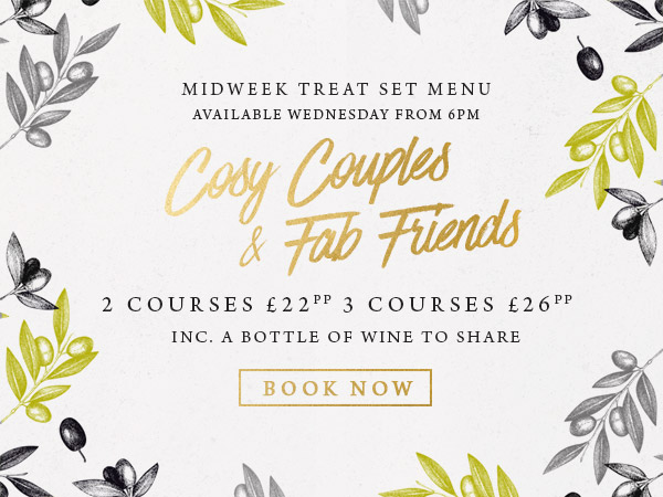 Midweek treat at The Cliff - Book now
